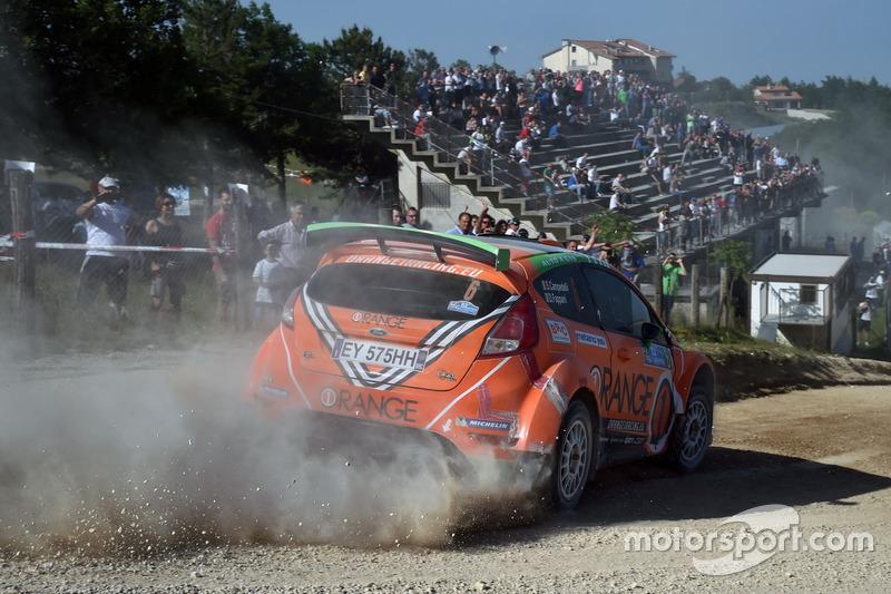 Simone Tempestini e Marc Banca Ford Fiesta R5 R5,