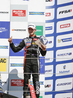 Rookie-Podium: 3. Anthoine Hubert, Van Amersfoort Racing Dallara F312, Mercedes-Benz