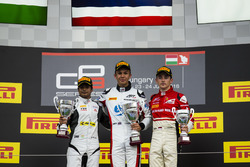 Alexander Albon, ART Grand Prix, Arjun Maini, Jenzer Motorsport and Charles Leclerc, ART Grand Prix