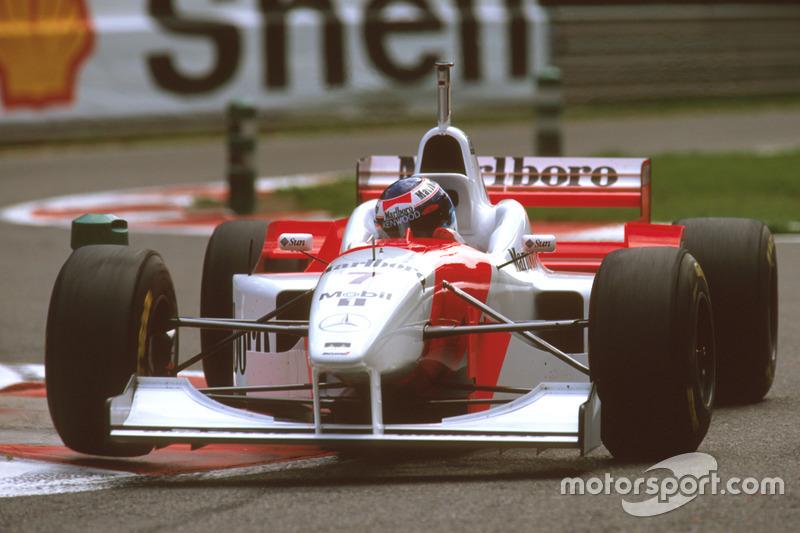 マクラーレンMP4/11B・メルセデス(ミカ・ハッキネン/1996年ベルギーGP)
