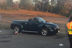 Chevrolet SSR involved in post-race accident