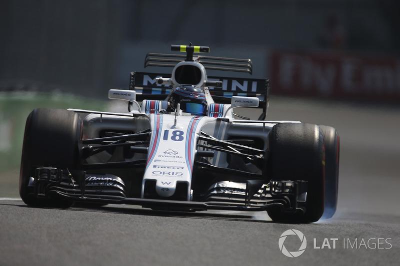 11º Lance Stroll, Williams FW40