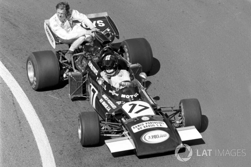 1972 Fransa: Carlos Pace, Ronnie Peterson