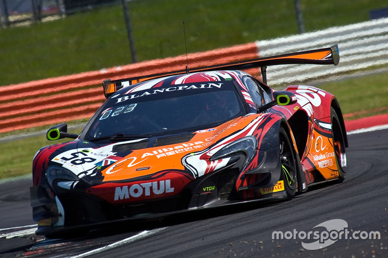 #58 Garage 59 McLaren 650 S GT3: Côme Ledogar, Ben Barnicoat, Andrew Watson