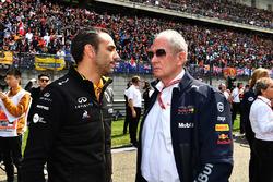 Управляющий директор Renault Sport F1 Сириль Абитбуль и спортивный консультант Red Bull Хельмут Марко