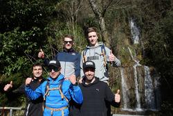 Joel Eriksson, Bruno Spengler, Augusto Farfus, Marco Wittmann, Philipp Eng y Joel Eriksson, Senderismo