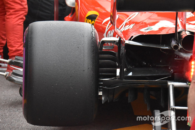 Ferrari SF71H rear detail