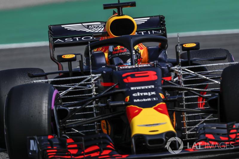 Daniel Ricciardo, Red Bull Racing RB14 con aero-sensores