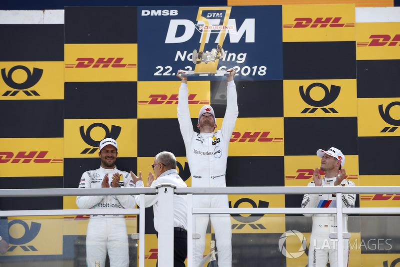 А Гері Паффет знову здобув подіум та знову вийшов у лідери заліку DTM