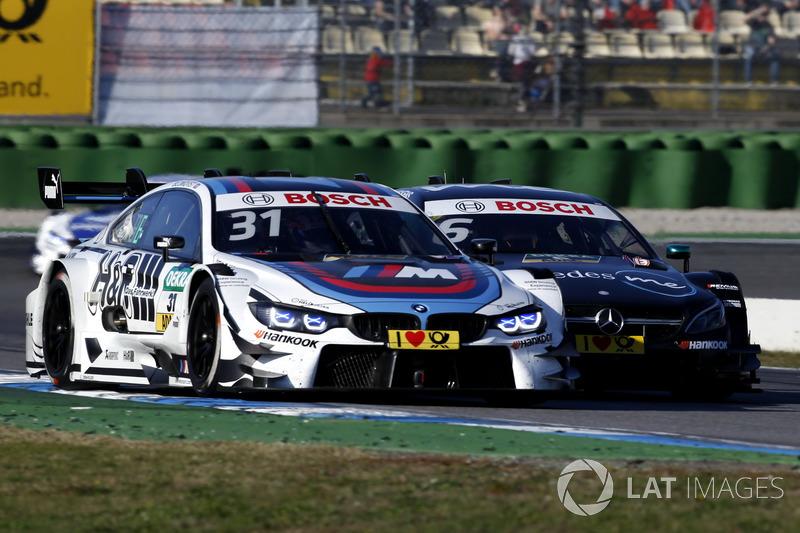 Tom Blomqvist, BMW Team RBM, BMW M4 DTM, Robert Wickens, Mercedes-AMG Team HWA, Mercedes-AMG C63 DTM