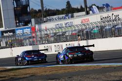 #17 KEIHIN NSX-GTと#100 RAYBRIG NSX-GT