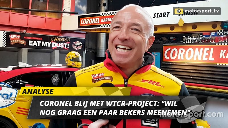 Tom Coronel Cupra announcement