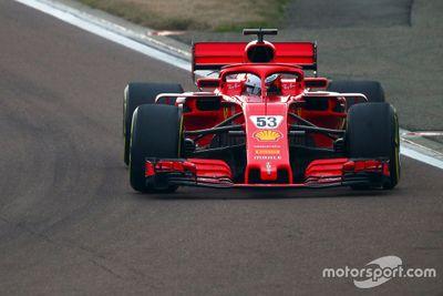 Test privado de Ferrari