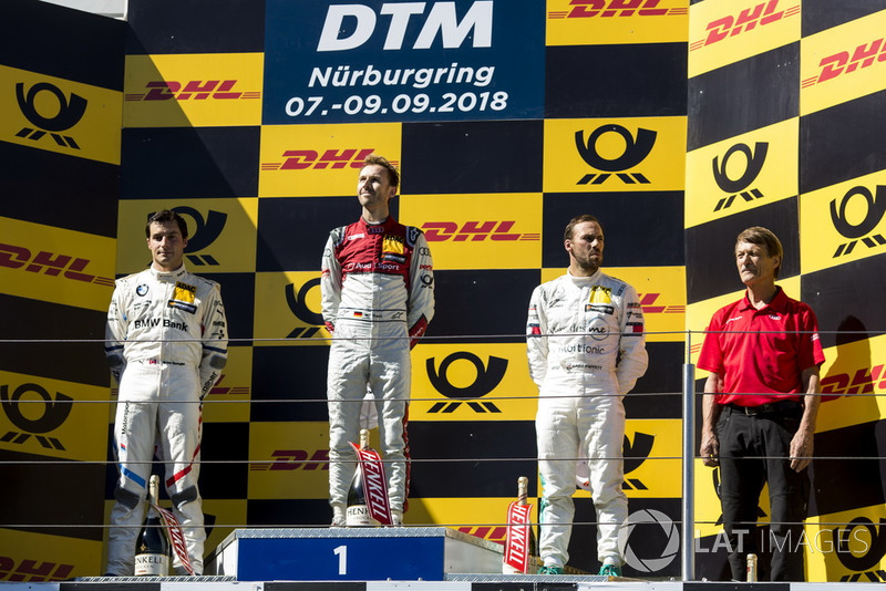 René Rast, Audi Sport Team Rosberg, Bruno Spengler, BMW Team RBM, Gary Paffett, Mercedes-AMG Team HWA
