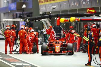 Пит-стоп: Кими Райкконен, Ferrari SF71H