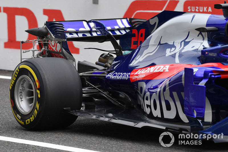 10 місце — Брендон Хартлі, Toro Rosso. Умовний бал — 9,98