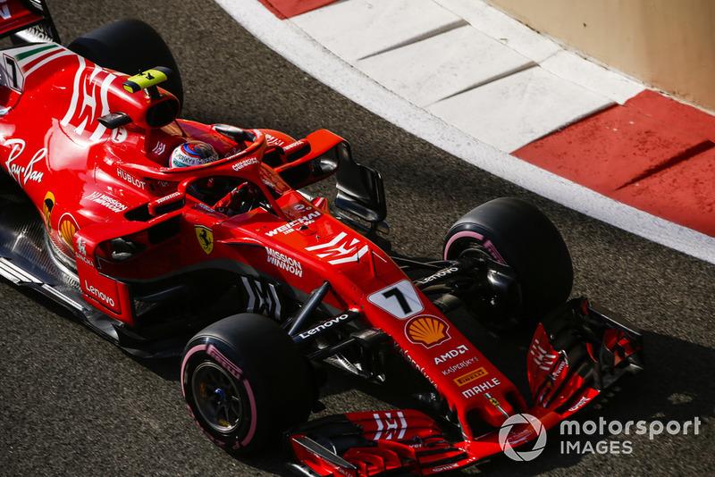 6 місце — Кімі Райкконен, Ferrari. Умовний бал — 13,27