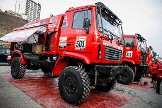 #501 Camion: Siarhei Viazovich, Pavel Haranin, Andrei Zhyhulin