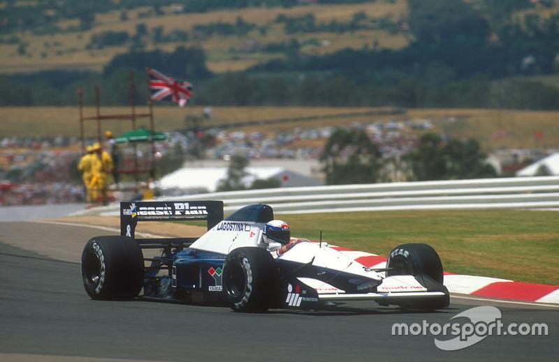 Giovanna Amati, GP de Sudáfrica 1992