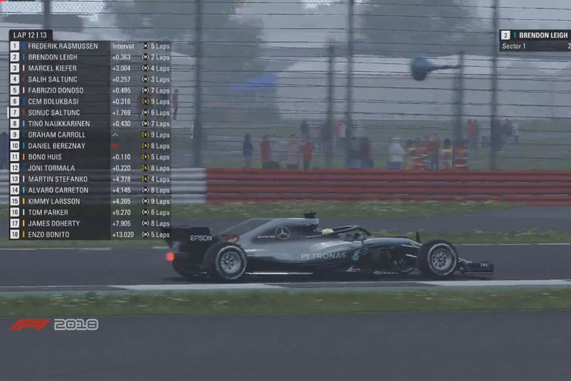 Round 2 of the Formula 1 Esports Pro Series
