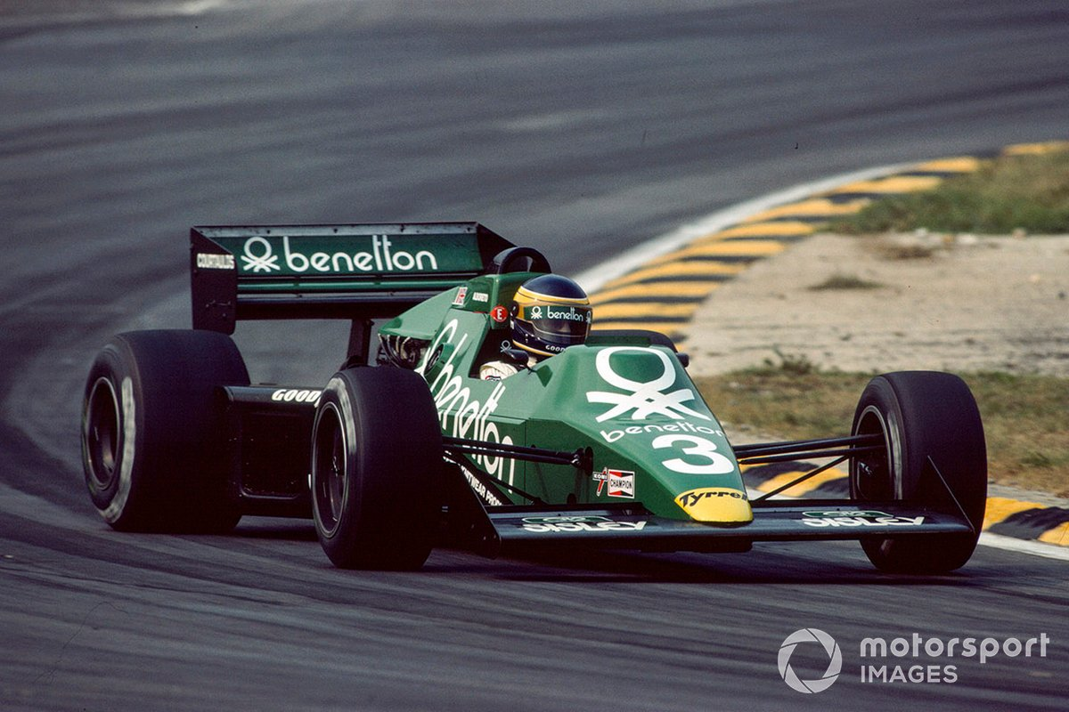 The Tyrrell 012 was a neat car and Albo won in Detroit, but anyone lacking a turbo was going to struggle on more open tracks.