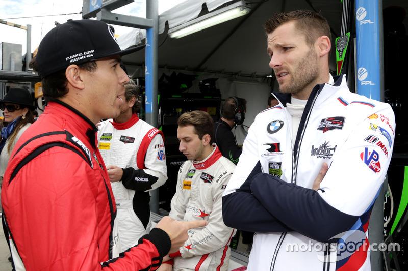Robert Wickens, Starworks Motorsports y Martin Tomczyk,  BMW Team RLL
