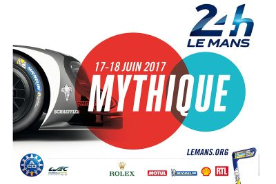 2017 Le Mans 24 Hours poster