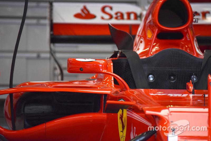 Ferrari SF70H: Rückspiegel