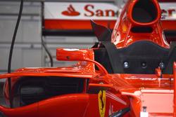 Ferrari SF70H, lo specchietto