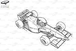 McLaren MP4-10 1995 overview