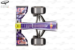 Red Bull RB7 front top view