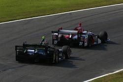 Marco Andretti, Andretti Autosport with Lendium Honda, Josef Newgarden, Team Penske Chevrolet