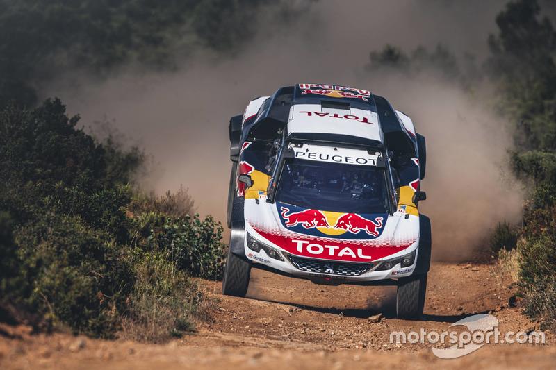 Сіріль Депре, Peugeot 3008 DKR, Peugeot Sport