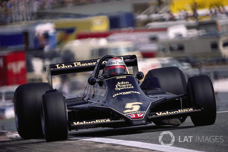 1978年スペインGP:マリオ・アンドレッティ(ロータス79)