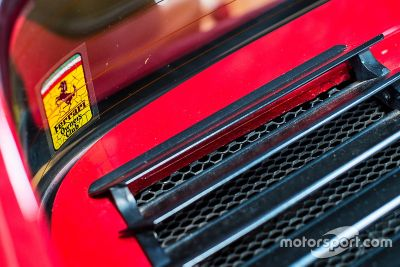 Visita al garaje de Nelson Piquet