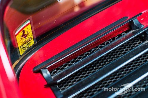 Visita del garage di Nelson Piquet