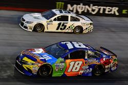 Kyle Busch, Joe Gibbs Racing Toyota, Reed Sorenson, Premium Motorsports Toyota