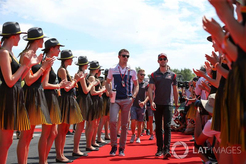 Пол ді Реста, Williams, Ромен Грожан, Haas F1