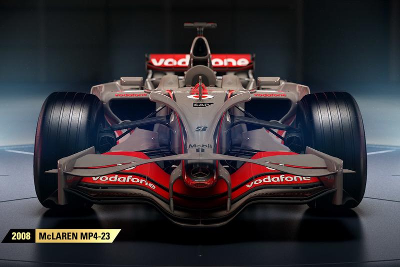 2008 mclaren mp4-23 at f1 2017 release - esports photos