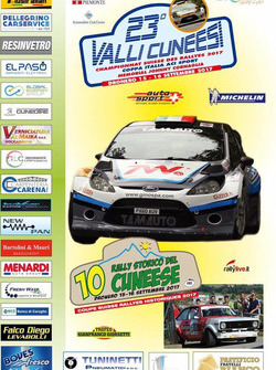 Rally Valli Cuneesi, theaterplakat
