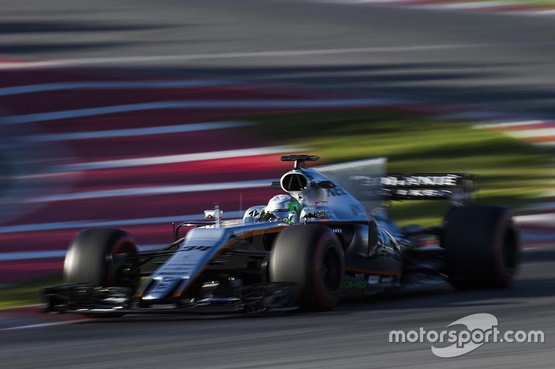 21º Alfonso Celis Jr., Force India VJM10, 1:23.568, superblandos, (71 vueltas)