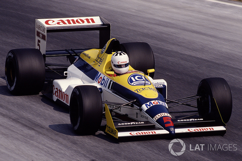 1988 год: Жан-Луи Шлессер, Williams FW12 Judd