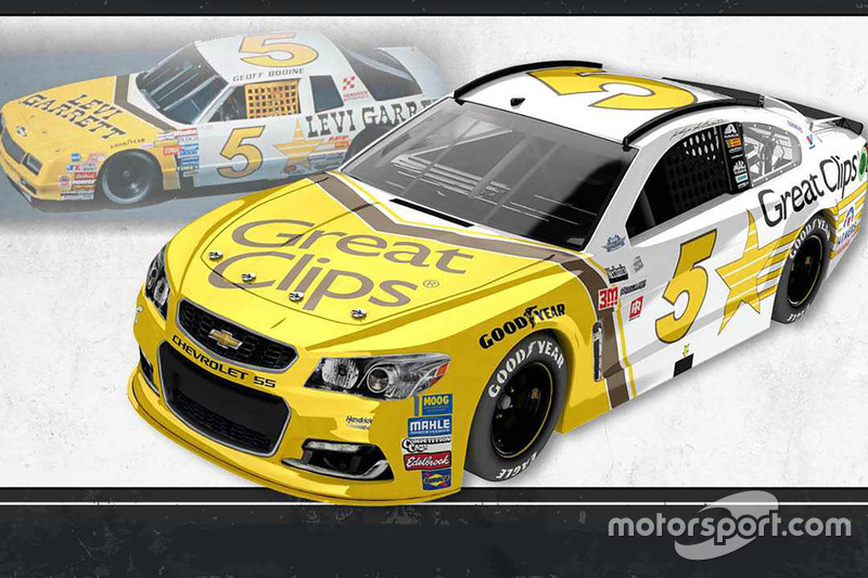 Throwback-Design: Kasey Kahne, Hendrick Motorsports Chevrolet