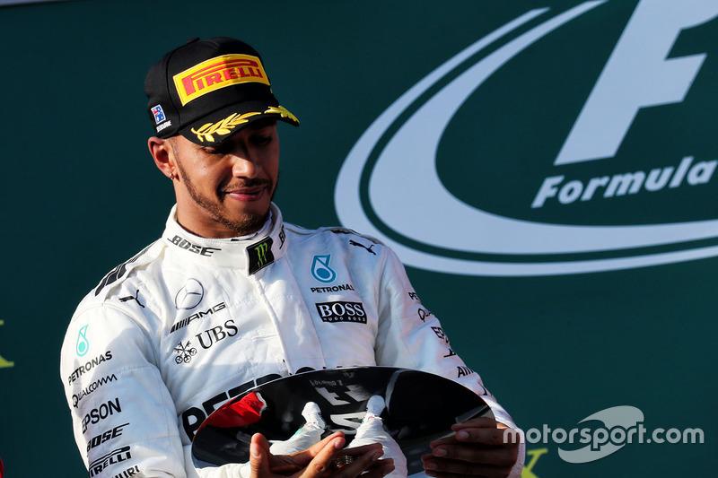 Podium: 2. Lewis Hamilton, Mercedes AMG F1