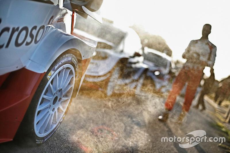 Detail: Toyota Racing, Toyota Yaris WRC