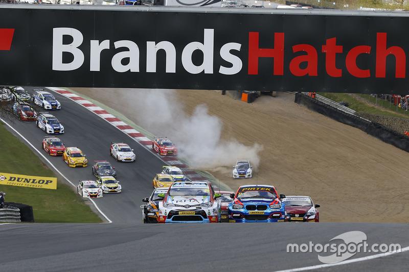 Start: Tom Ingram, Speedworks Motorsport, Toyota Avensis