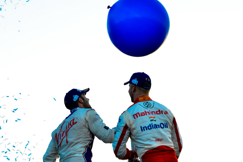 Podium: 2. Sam Bird, DS Virgin Racing; 3. Felix Rosenqvist, Mahindra Racing