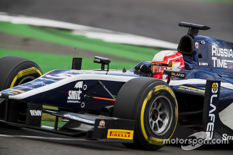 "<p>3. <img src=""https://cdn-8.motorsport.com/static/img/cfp/0/0/0/100/108/s3/italy-2.jpg"" alt="""" width=""20"" height=""12"" /> Luca Ghiotto, RUSSIAN TIME</p>"