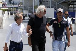 Alain Prost, Renault Sport F1 Team Asesor especial, Flavio Briatore, Carlos Sainz Jr., Scuderia Toro Rosso