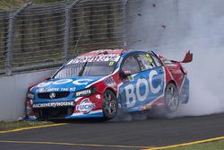 Jason Bright, Brad Jones Racing Holden crash